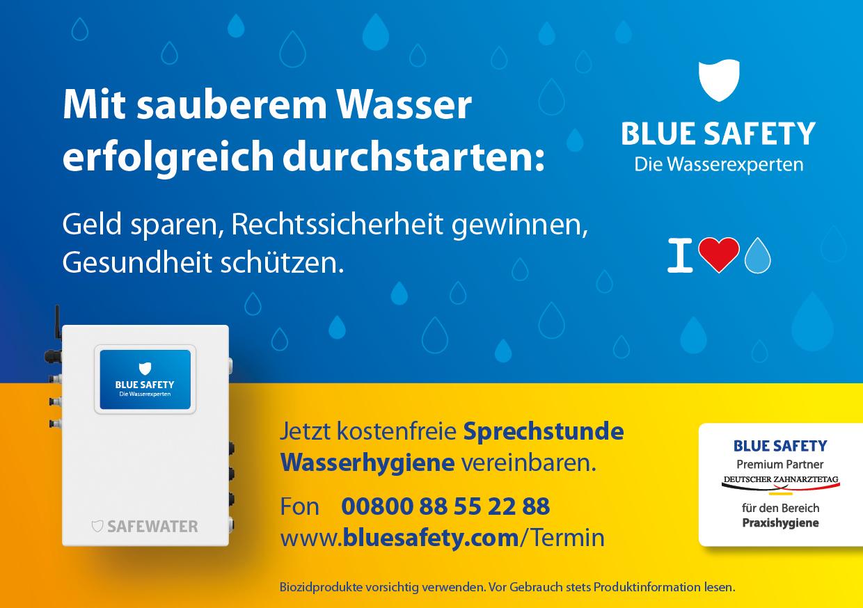BlueSafety Werbung